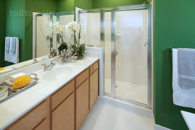 小清新卫生间装修效果图欣赏