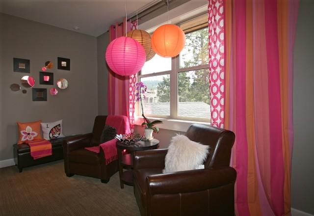客厅窗帘装修效果图大全