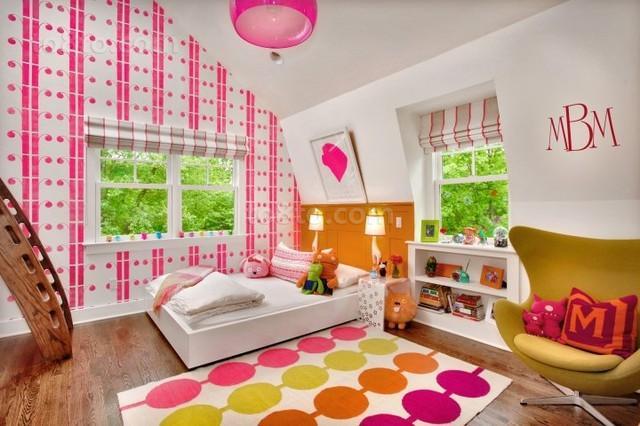 现代风格次卧室装修效果图