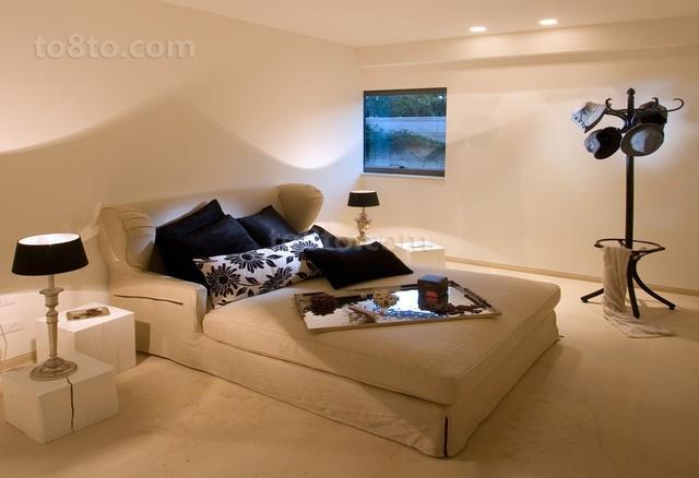 别墅创意卧室装修效果图大全2012