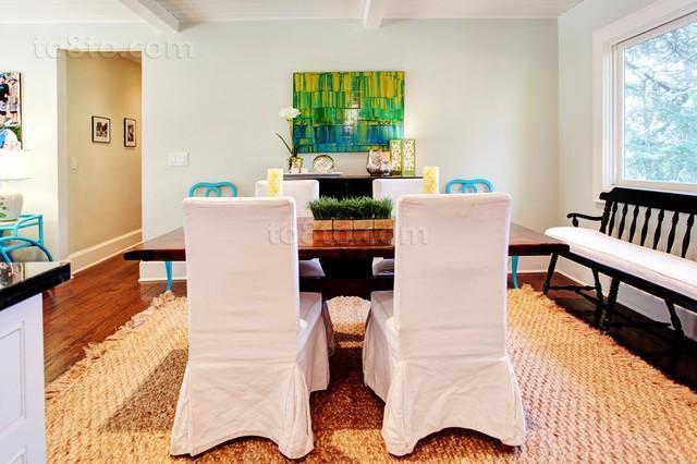 2014三室两厅餐厅装修设计效果图大全