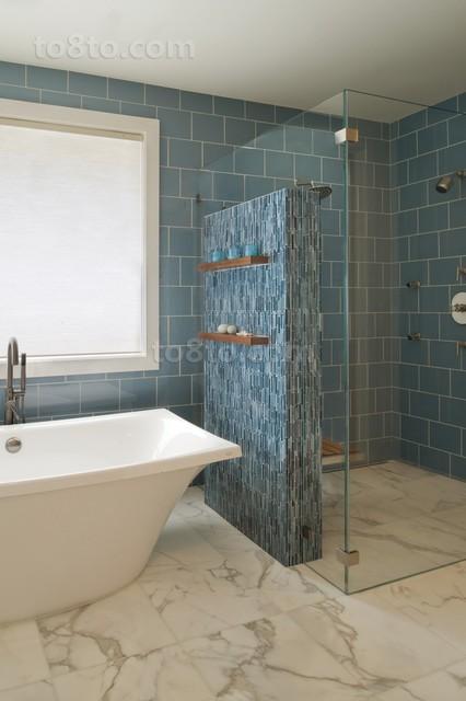 御峰园地中海风格室内设计卫生间