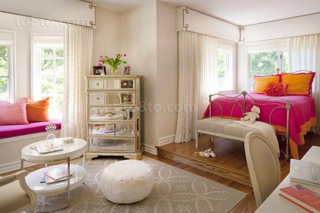 欧式奢华儿童房装修设计效果图