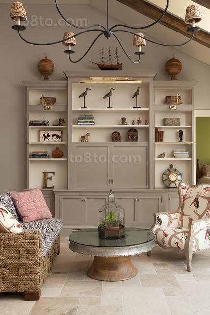 80后喜爱的客厅装修效果图