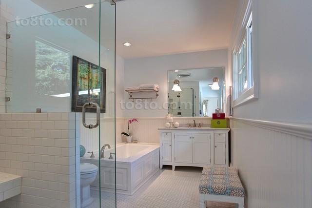 三室两厅卫生间装修效果图大全2014