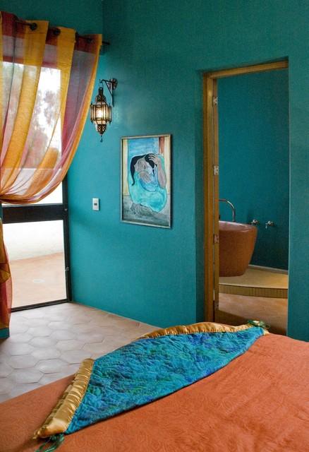 热门139平米混搭别墅卧室装修效果图片