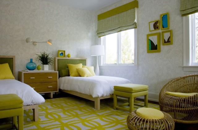 50平米小户型卧室装修效果图 自然清新