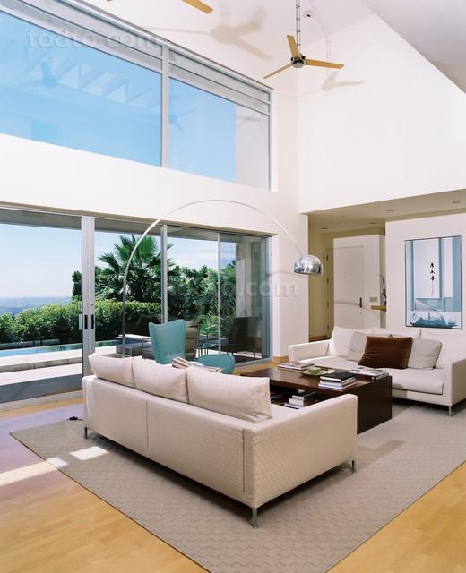 300平别墅客厅装修设计效果图2012经典案例