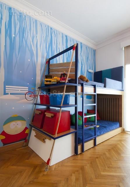 2013双层儿童床图片