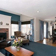 大小86平混搭二居客厅装修效果图片欣赏