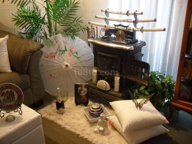 英式设计客厅增加了复古的元素