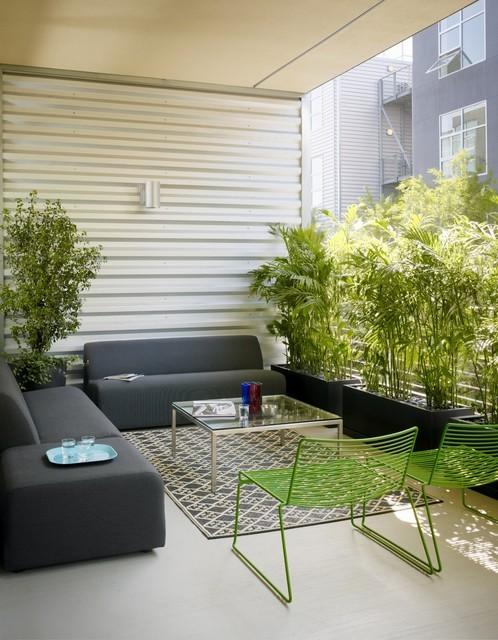 绿色清新的客厅装修效果图大全