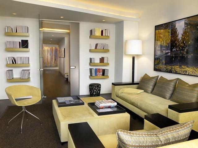 12万打造现代装修风格客厅装修效果图大全2014图片