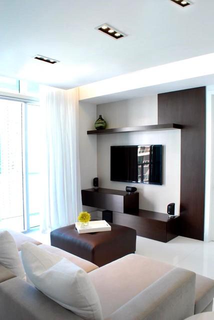 2012客厅装修效果图 客厅背景墙效果图