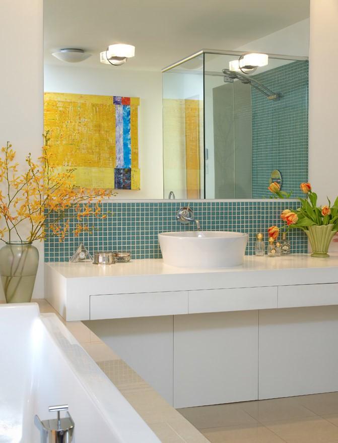 复式楼后现代风格卫生间装修效果图大全2012图片