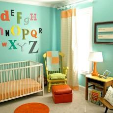 面积94平混搭三居儿童房效果图片欣赏