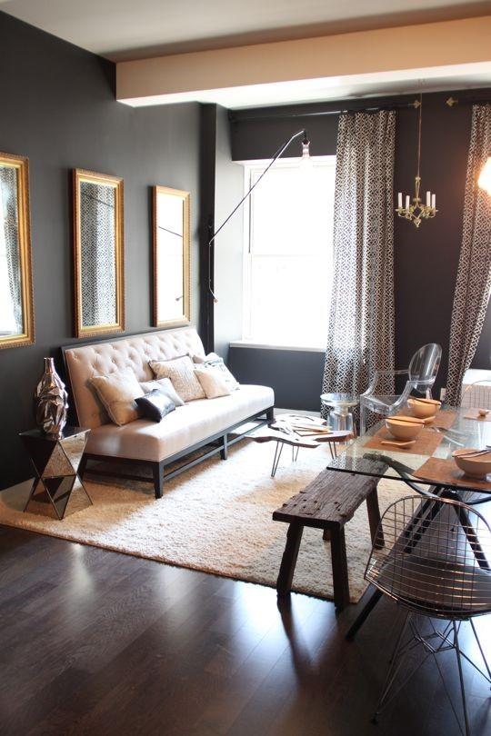 7万打造77平美式风格室内客厅背景墙设计