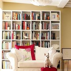 精选96平米三居书房混搭装修实景图片大全