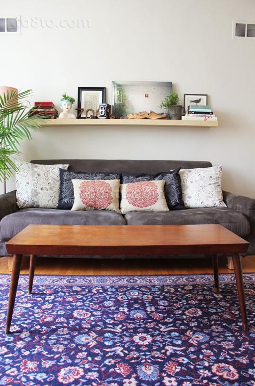 客厅实木茶几图片大全
