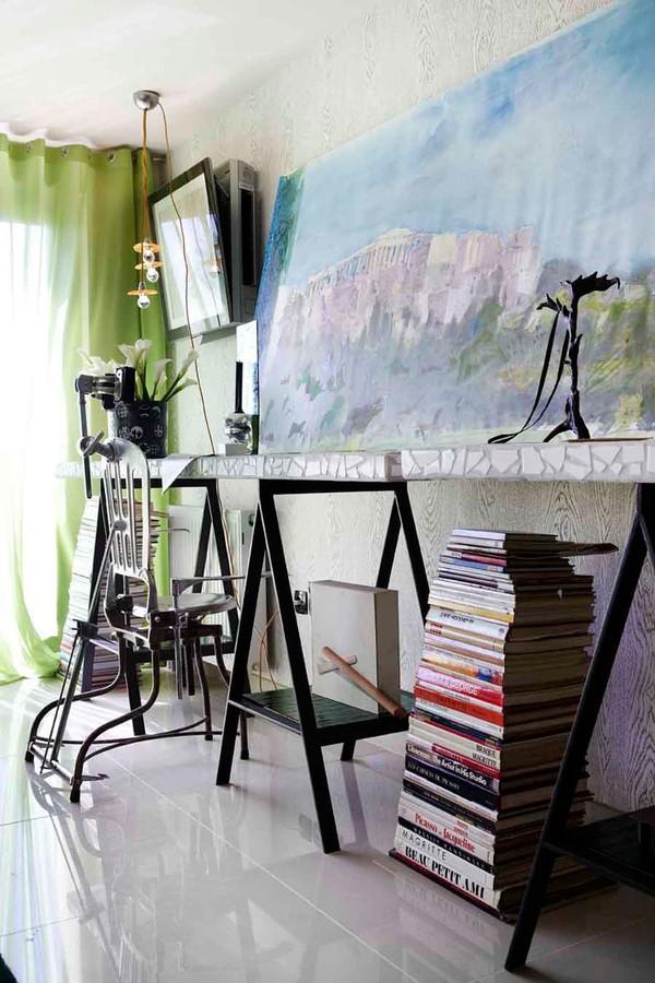 别墅图片大全 书房装修、艺术创作的源泉