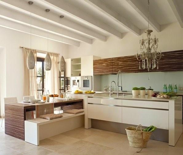 4万70平打造室内浪漫地中海风格厨房橱柜装修效果图