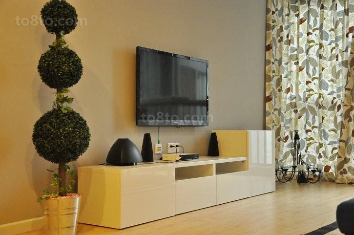 简约风格电视柜背景墙装修效果图大全