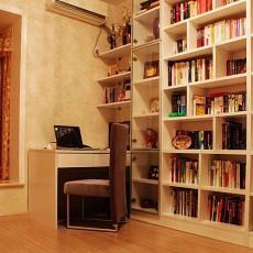 84平米二居书房混搭欣赏图片大全