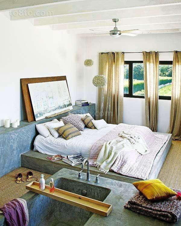 90平田园风格卧室装修效果图大全2012图片