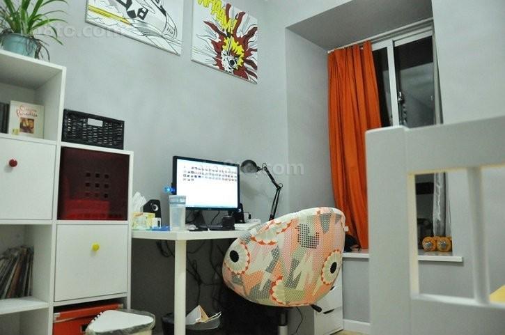 小户型现代风格书房装修效果图2012图片