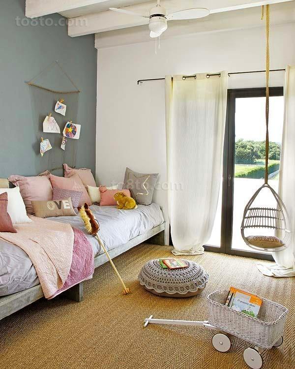 90平自然素雅客厅沙发装修效果图大全2012图片