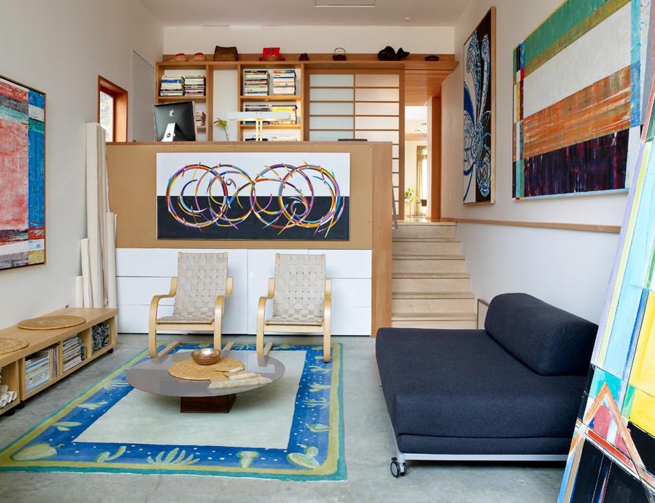 复式楼后现代风格客厅装修效果图大全2012图片