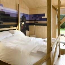 70万打造浪漫气息别墅现代简约装修风格卧室全貌