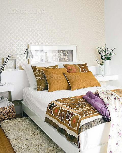 卧室装修效果图大全2012图片 小户型也要温馨