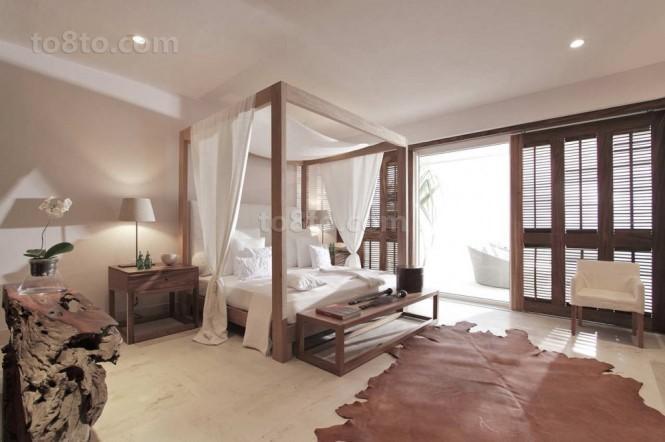 海滨现代别墅图片大全 细腻温暖的卧室装修效果图
