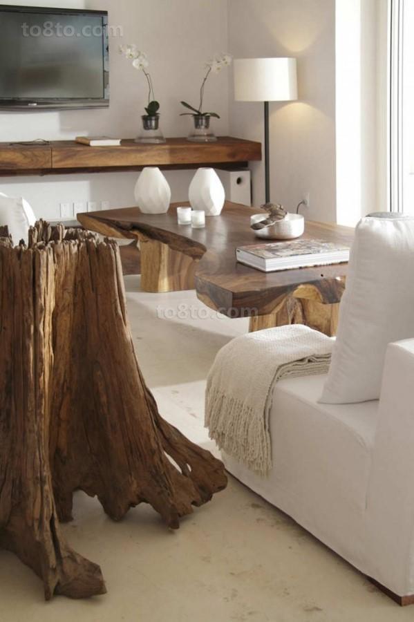 海滨欧式别墅图片大全 客厅装修效果图、拙朴禅意