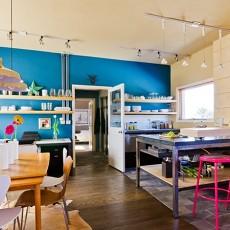 精选面积78平混搭二居餐厅实景图