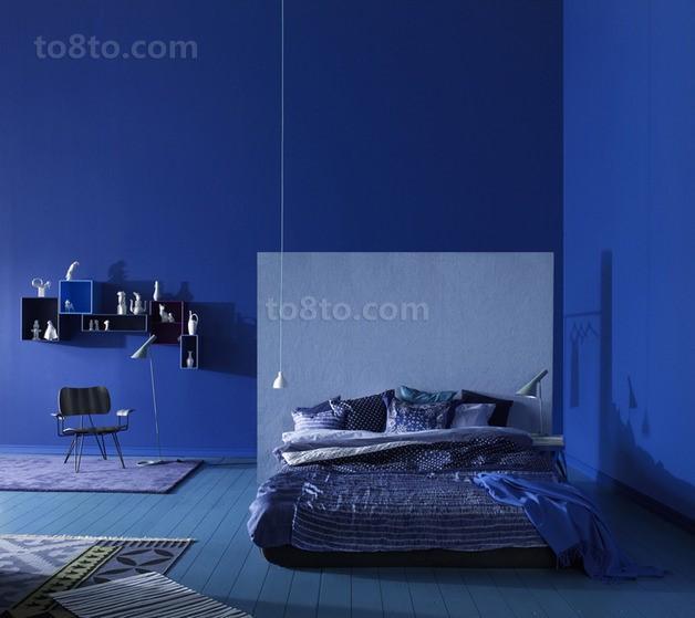 3万全包打造极简地中海风格90平方卧室装修效果图