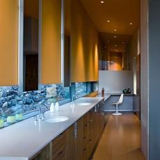 超现代的梦幻美式家居卫生间装修设计效果图