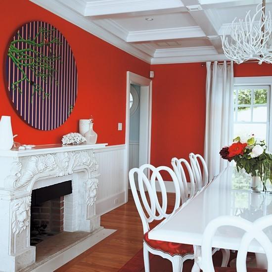80后复式婚房餐厅设计效果图