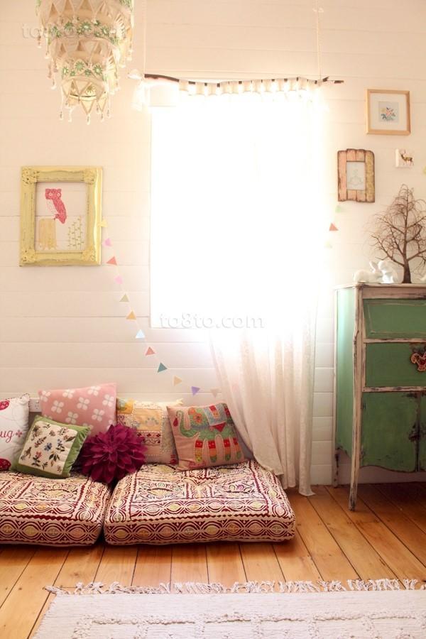 温馨的儿童房装修效果图大全2013图片