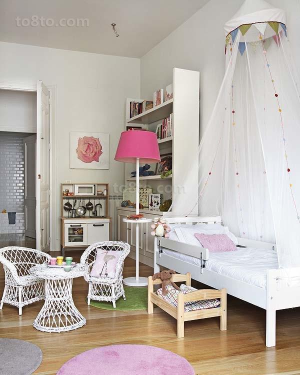 小三居欧式风格儿童房装修效果图大全2014图片