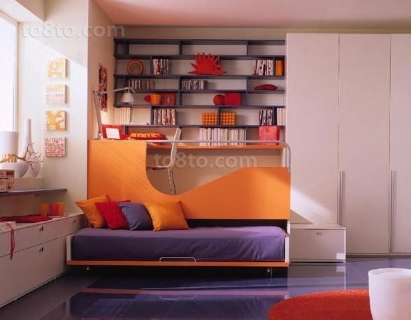 现代风格创意儿童房装修效果图