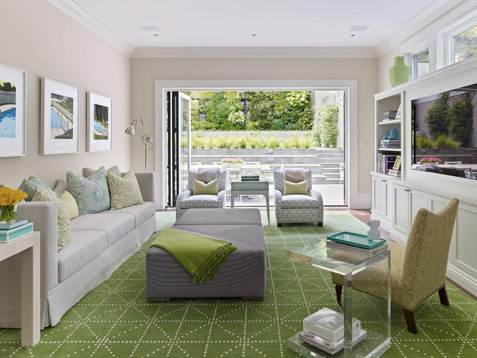 5万打造二居90平米田园风格客厅家居