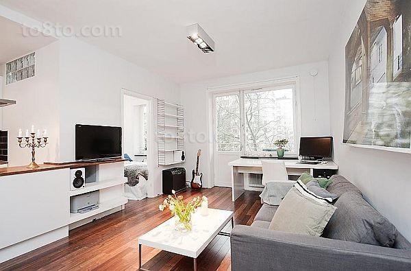 单身公寓装修效果图客厅