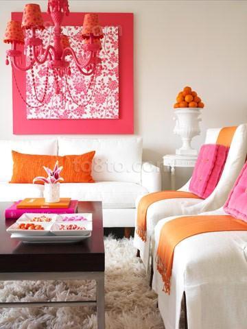 80后小户型婚房装修设计 温馨的客厅