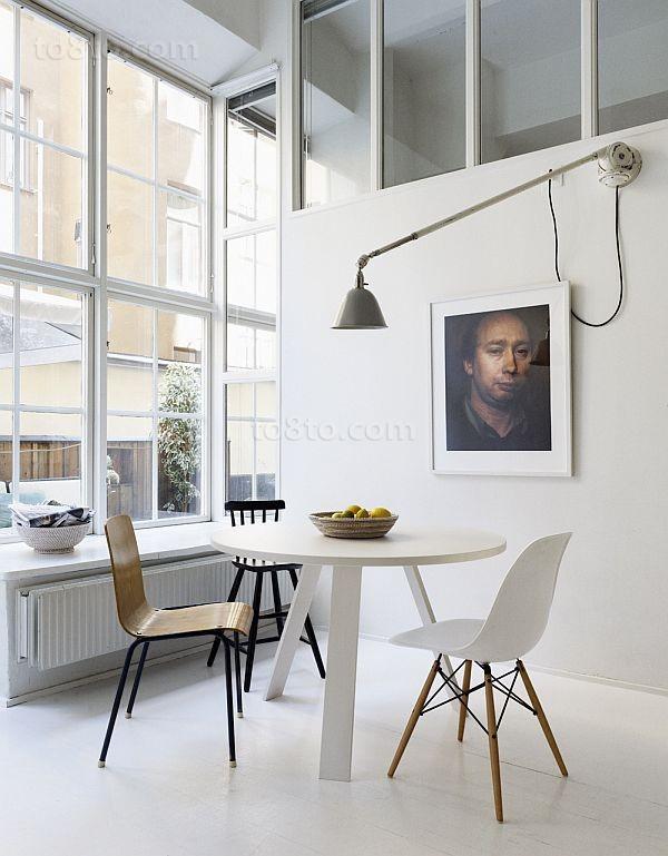 80平男士单身公寓餐厅装修效果图 寂寞如图