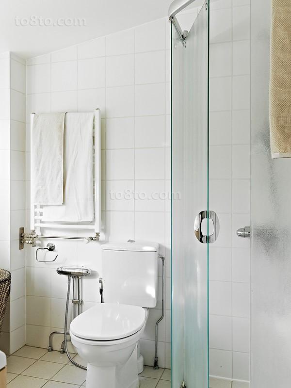 小卫生间玻璃隔断效果图