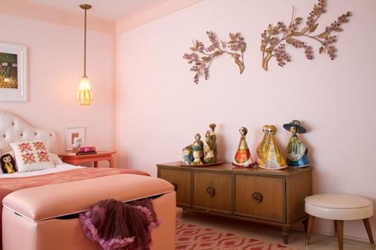 12万打造80平米田园风家居卧室背景墙