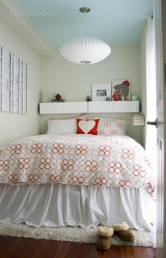 清新宜家温馨的卧室装修效果图大全2012图片