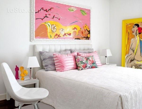 小复式楼卧室装修效果图 创意手绘